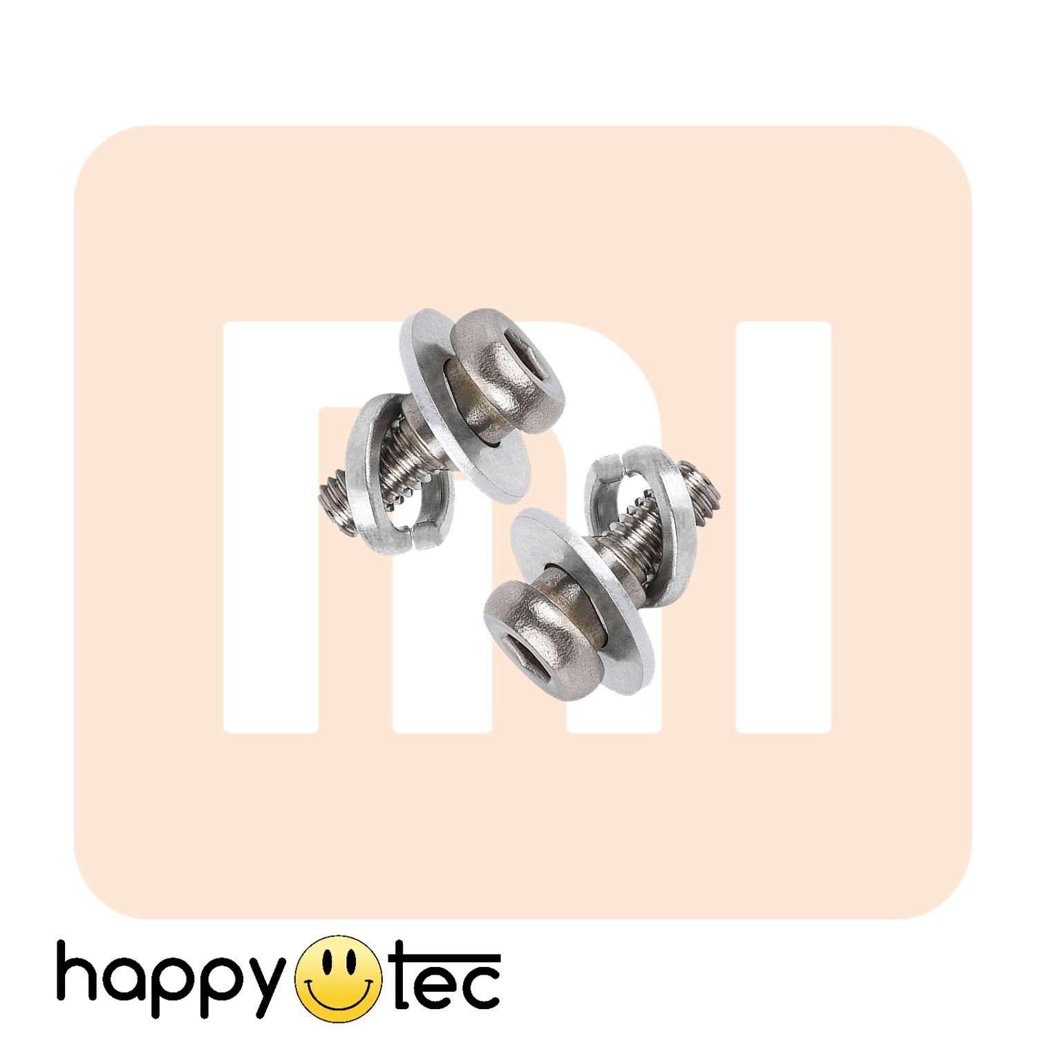 Coppia viti di ricambio ruota posteriore monopattini Xiaomi