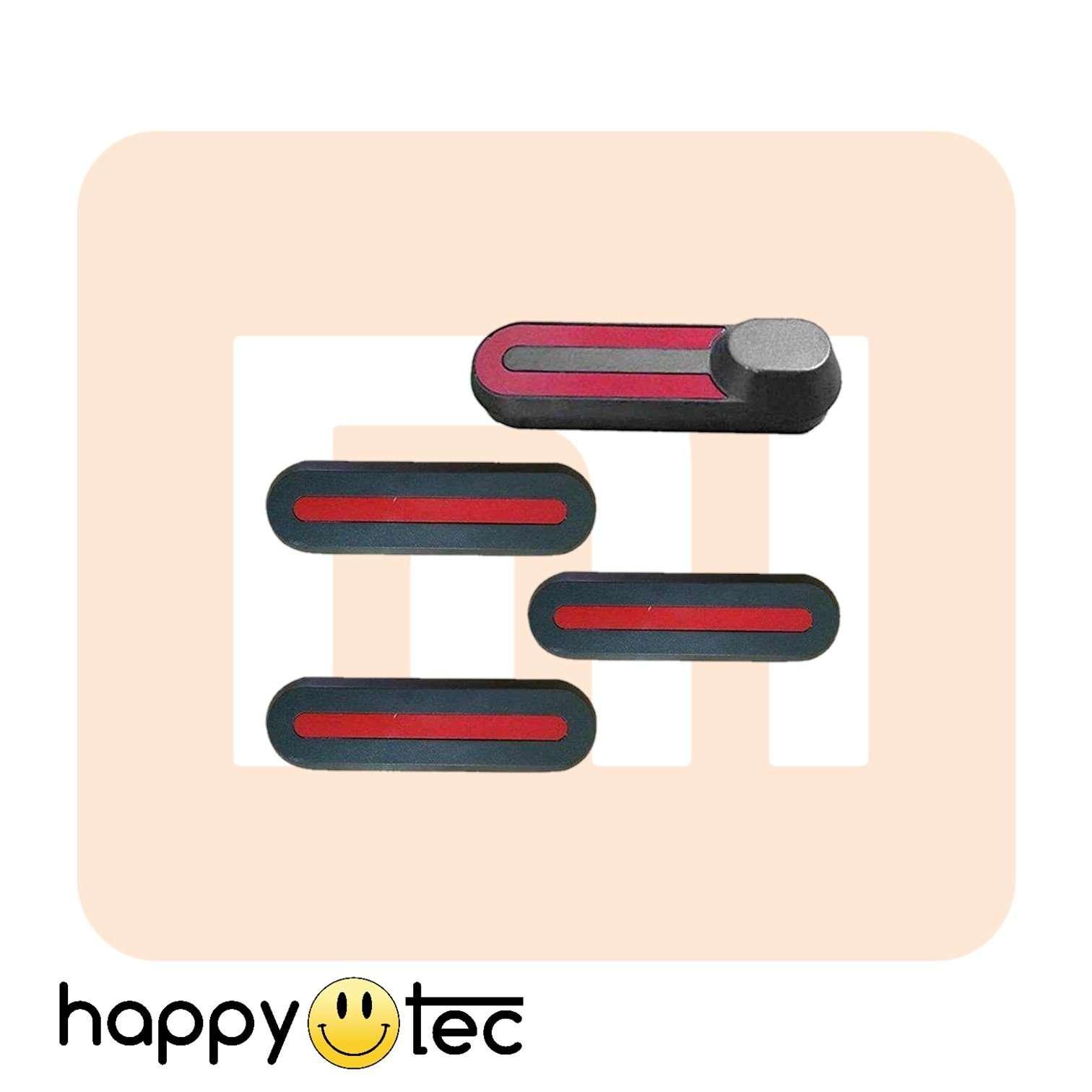 Set coperture plastiche nere per forcella anteriore e posteriore