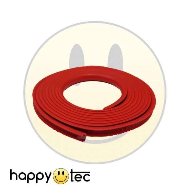Striscia contorno bumper pedana monopattino Xiaomi Rosso