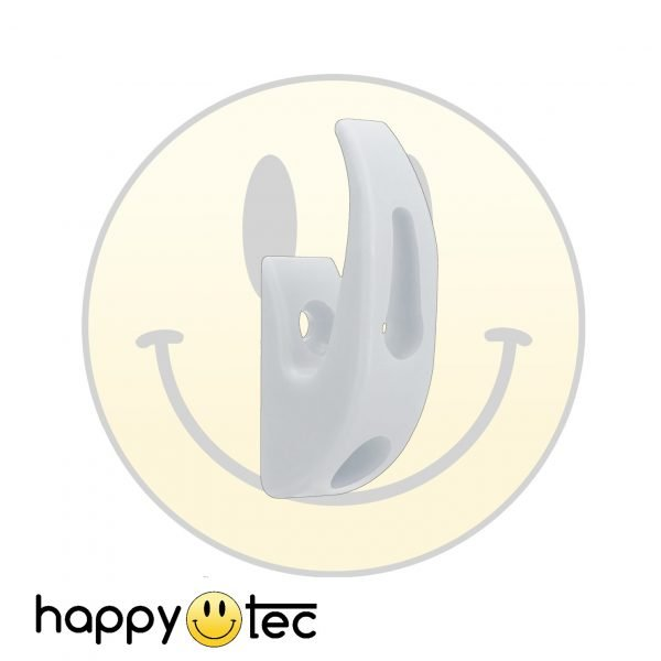 Gancio portaoggetti bianco da manubrio per monopattini elettrici