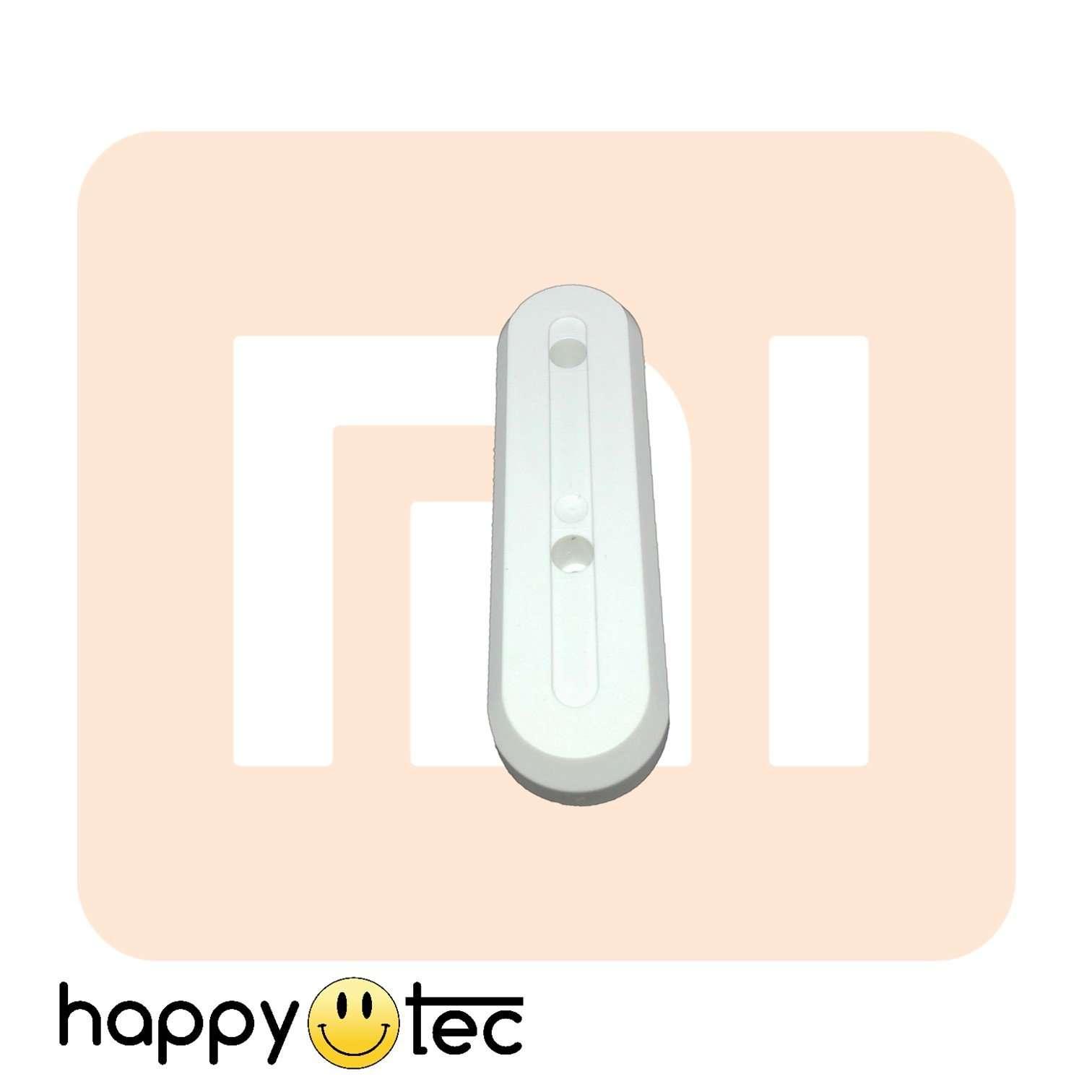 Borchia bianca copertura viti per monopattini Xiaomi