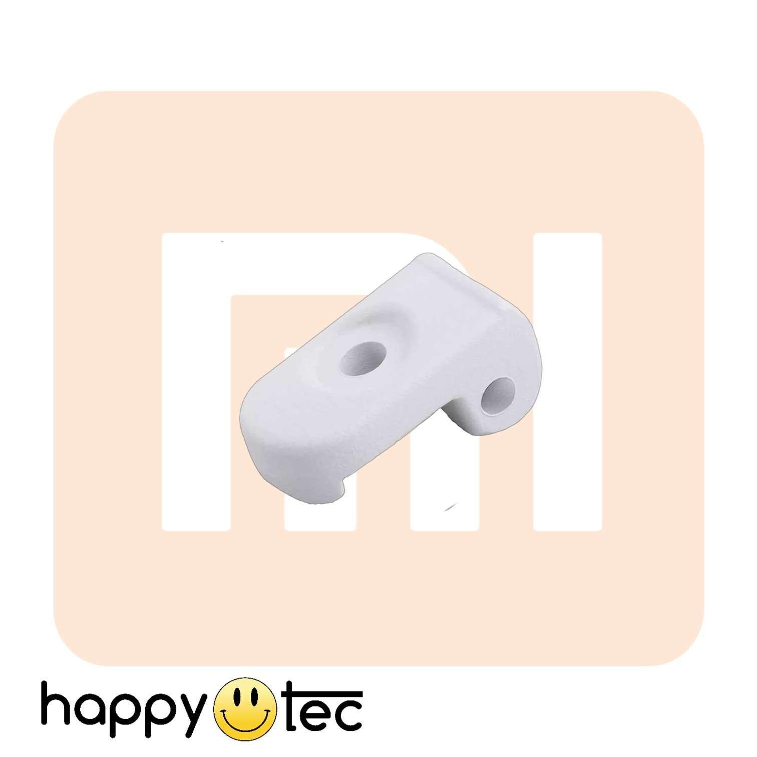 Gancio di chiusura bianco per monopattini Xiaomi e cloni
