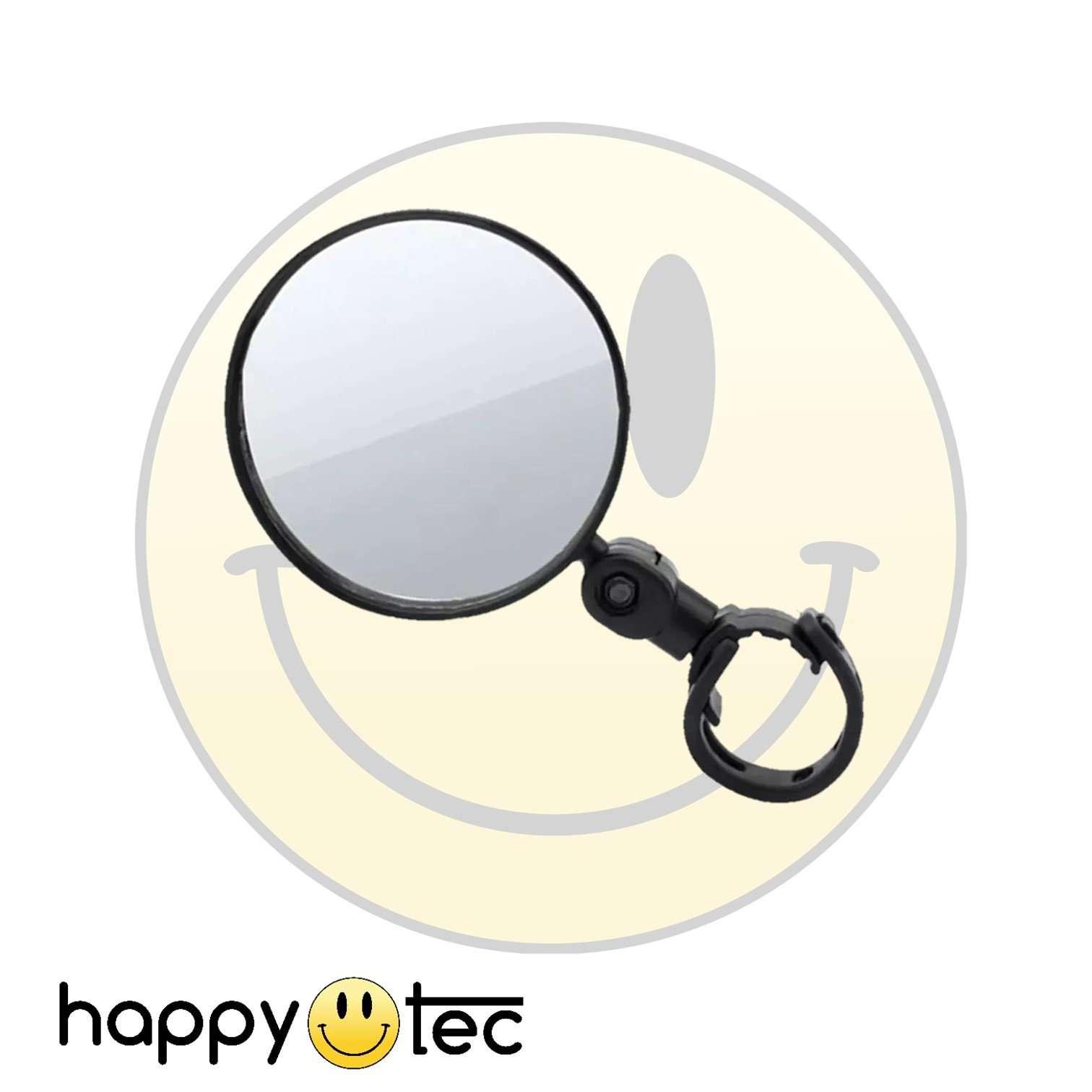 Specchietto retrovisore corto per manubri