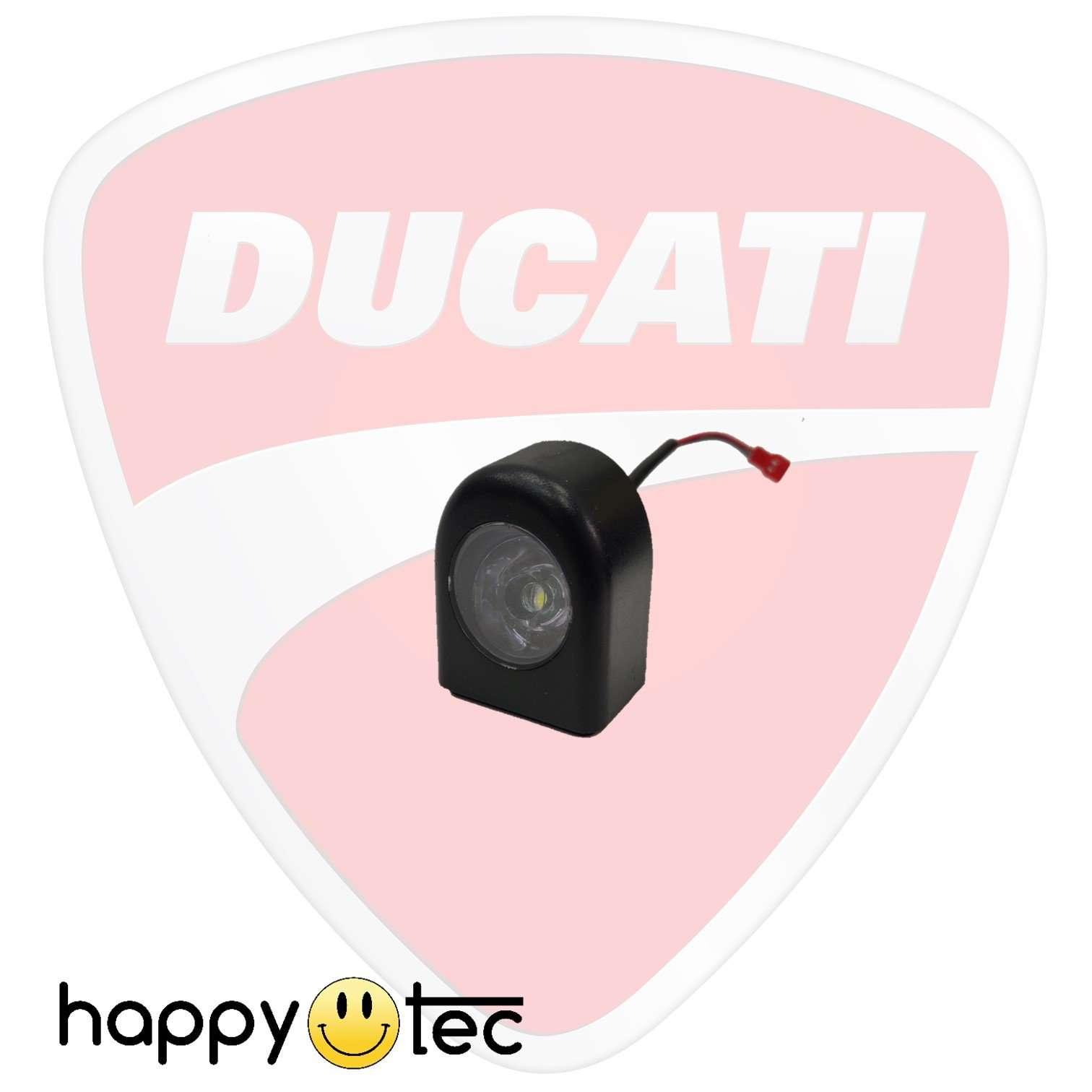 Faro anteriore a LED originale per monopattini Ducati