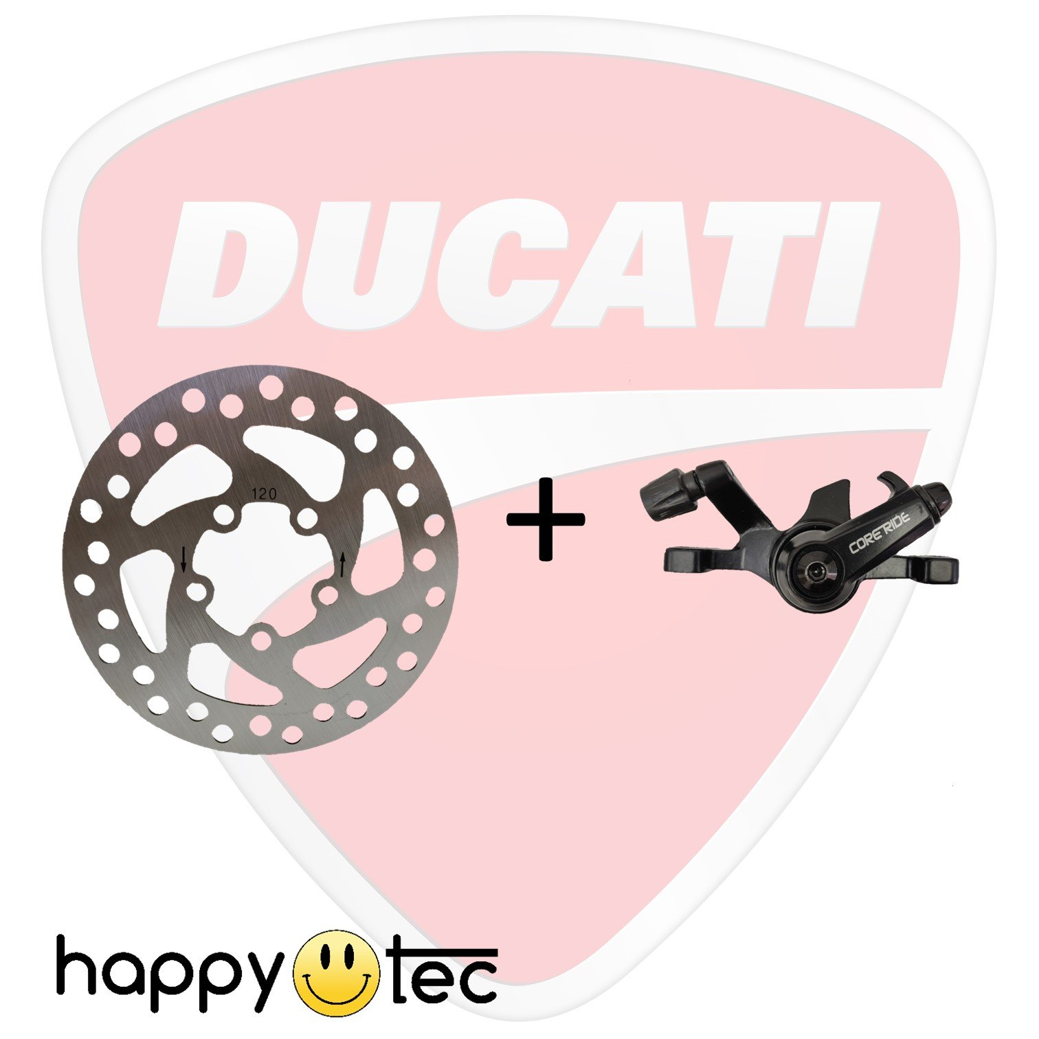 Kit pinza freno e disco originale per Ducati Pro-I Plus