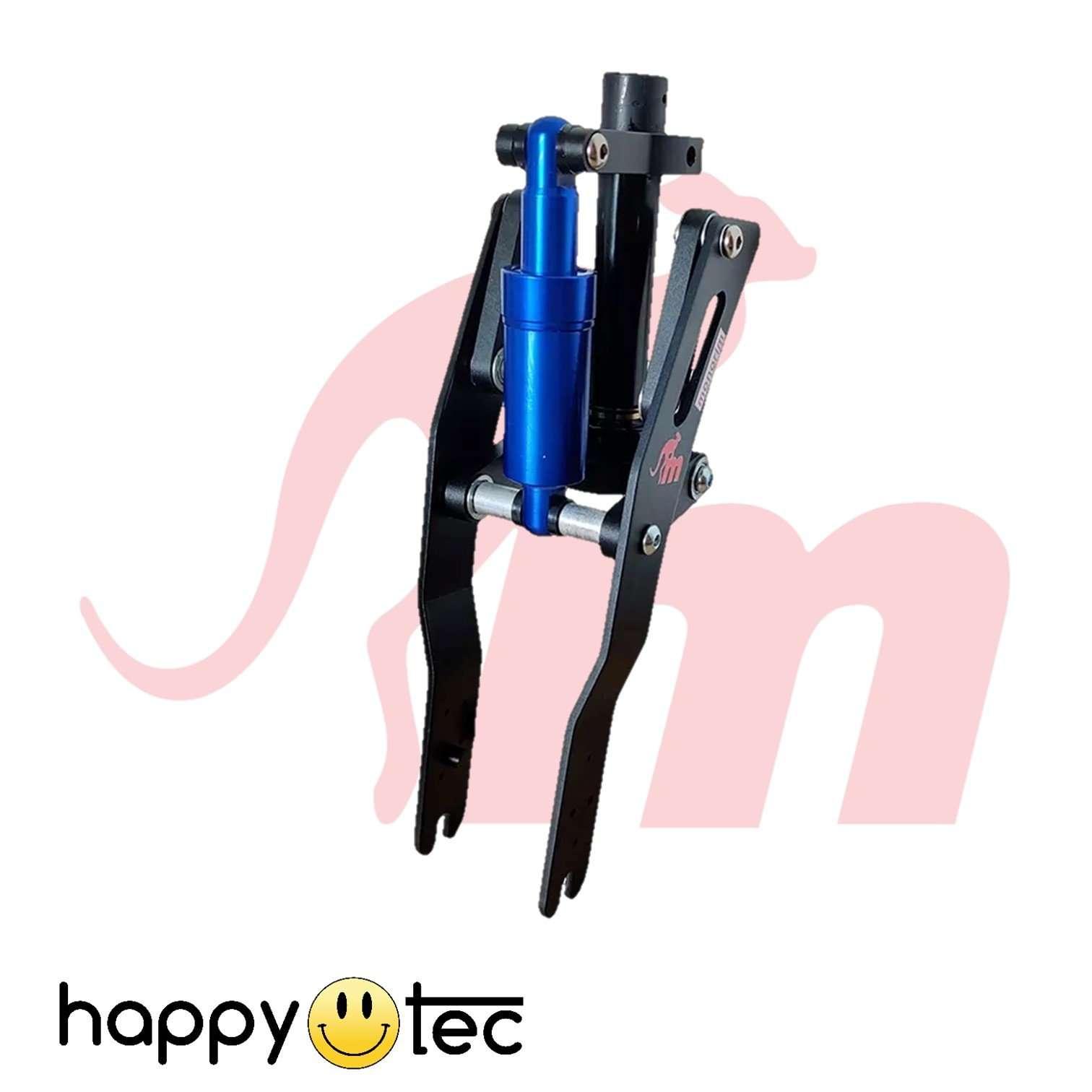 Ninebot | G30 Max | Ammortizzatore anteriore V2 by Monorim | Nero e blu