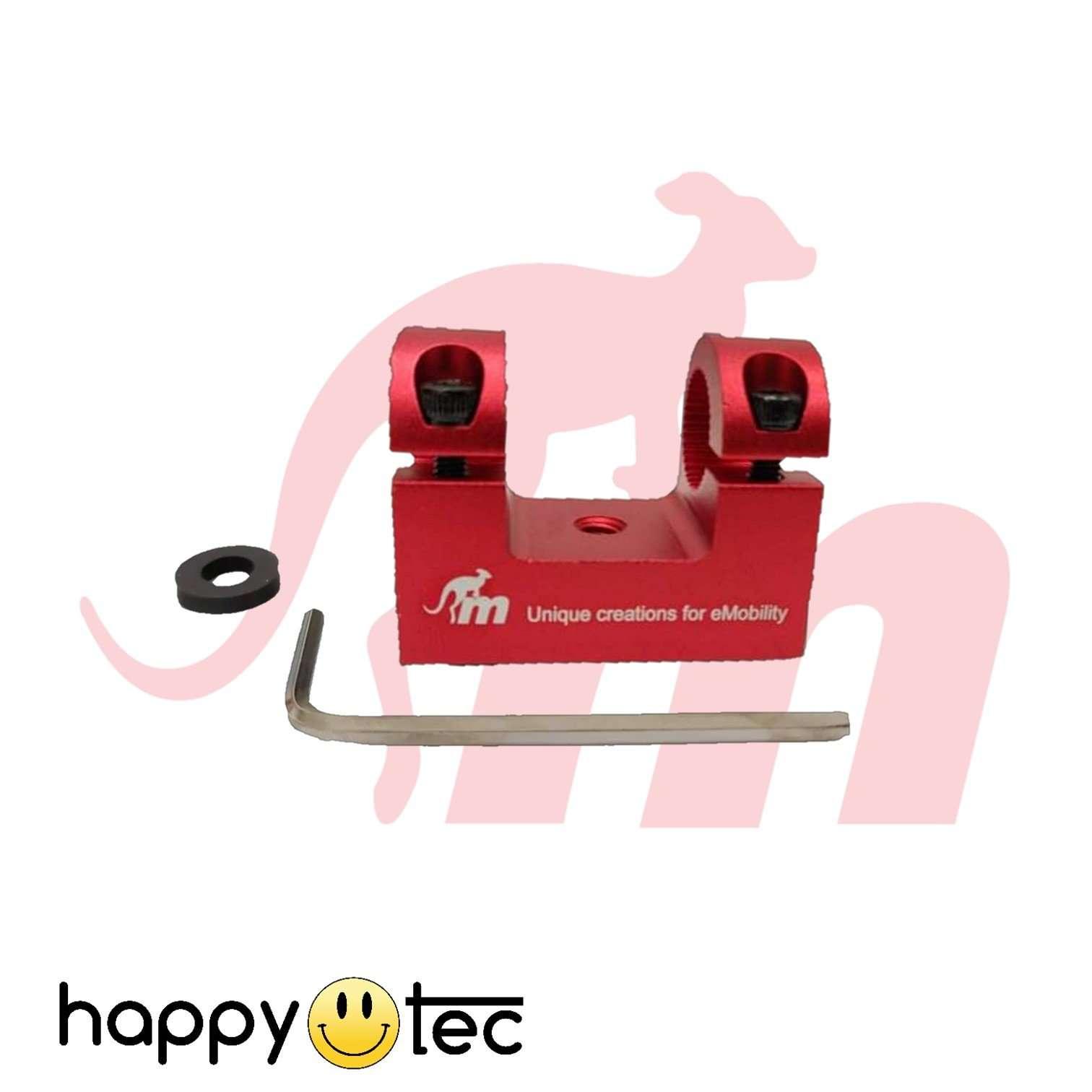 Supporto parafango anteriore per ammortizzatore Ninebot G30 Max (Rosso)