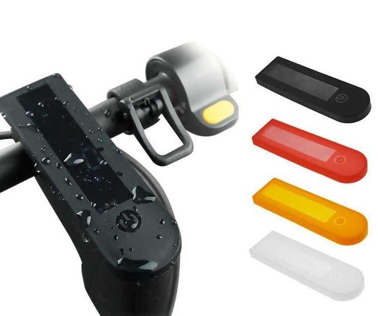 Ninebot | G30 Max | Cover in silicone per dashboard | Nero
