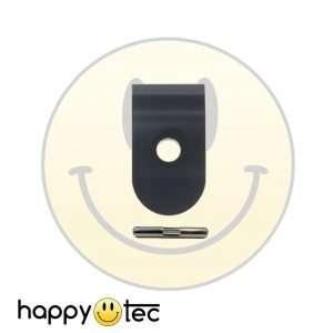 Xiaomi Gancio pieghevole rinforzato + Perno chiusura asta Nero