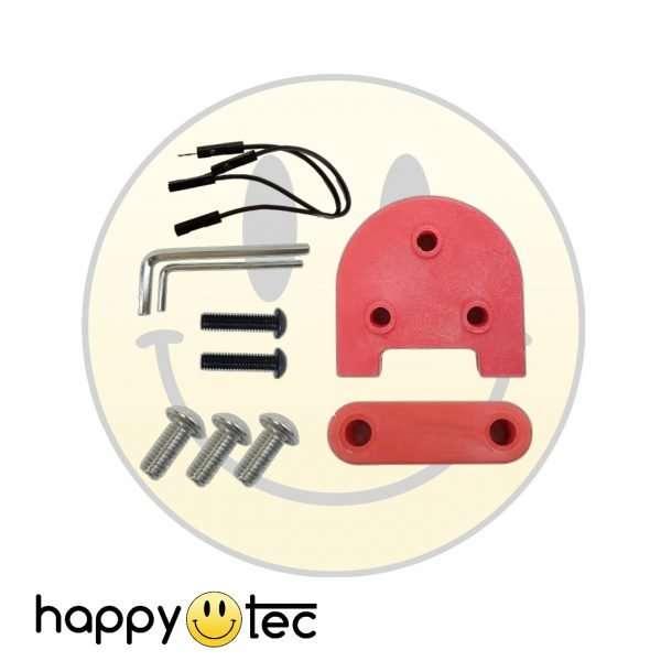 Accessori per Xiaomi Spessori per installazione ruote 10 con cavi Rosso