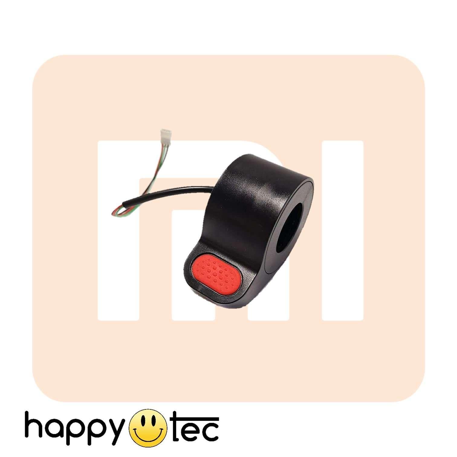 Acceleratore di ricambio per monopattini Xiaomi | Rosso