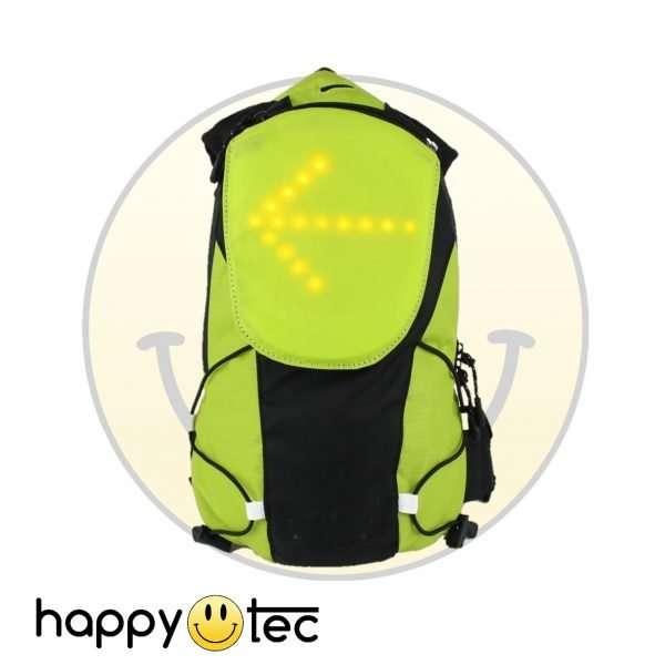 Accessori universali Zaino luminoso a LED Giallo Fluorescente