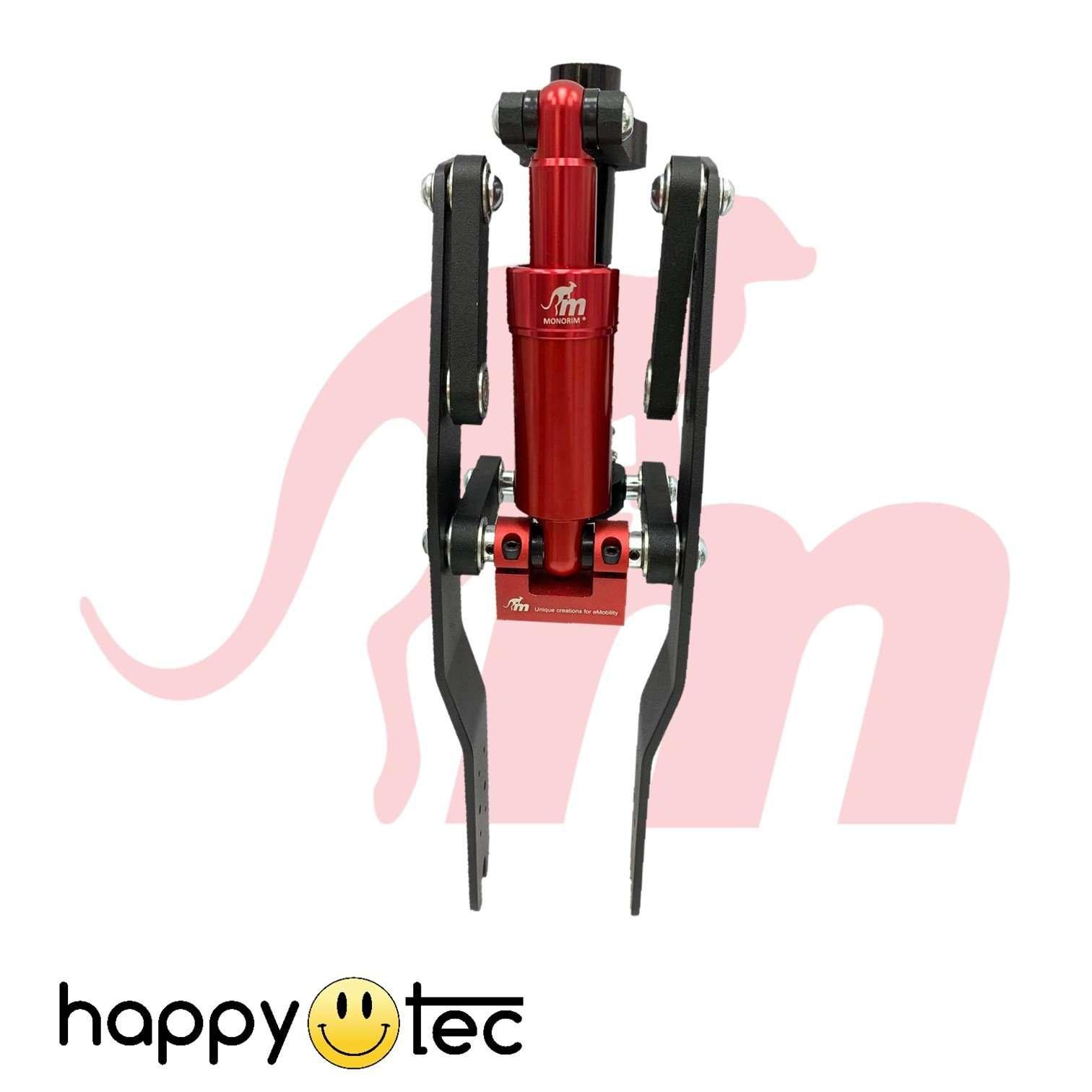 Ammortizzatore anteriore Monorim V4 per monopattini Xiaomi | Pistone rosso