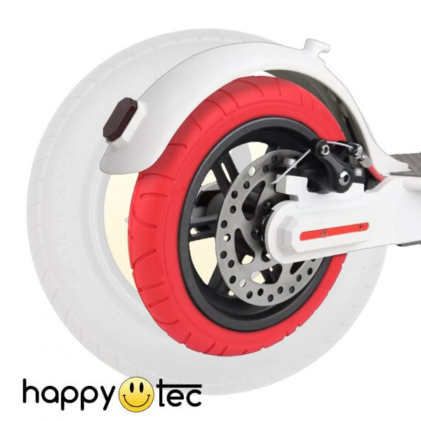 Ricambi pneumatici Pneumatico da 10 Rosso