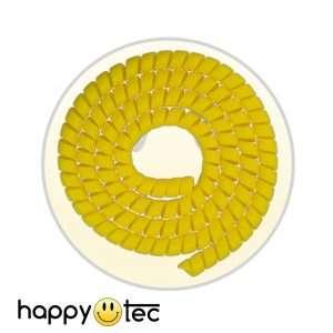 Copri cavi a spirale giallo per monopattini Xiaomi