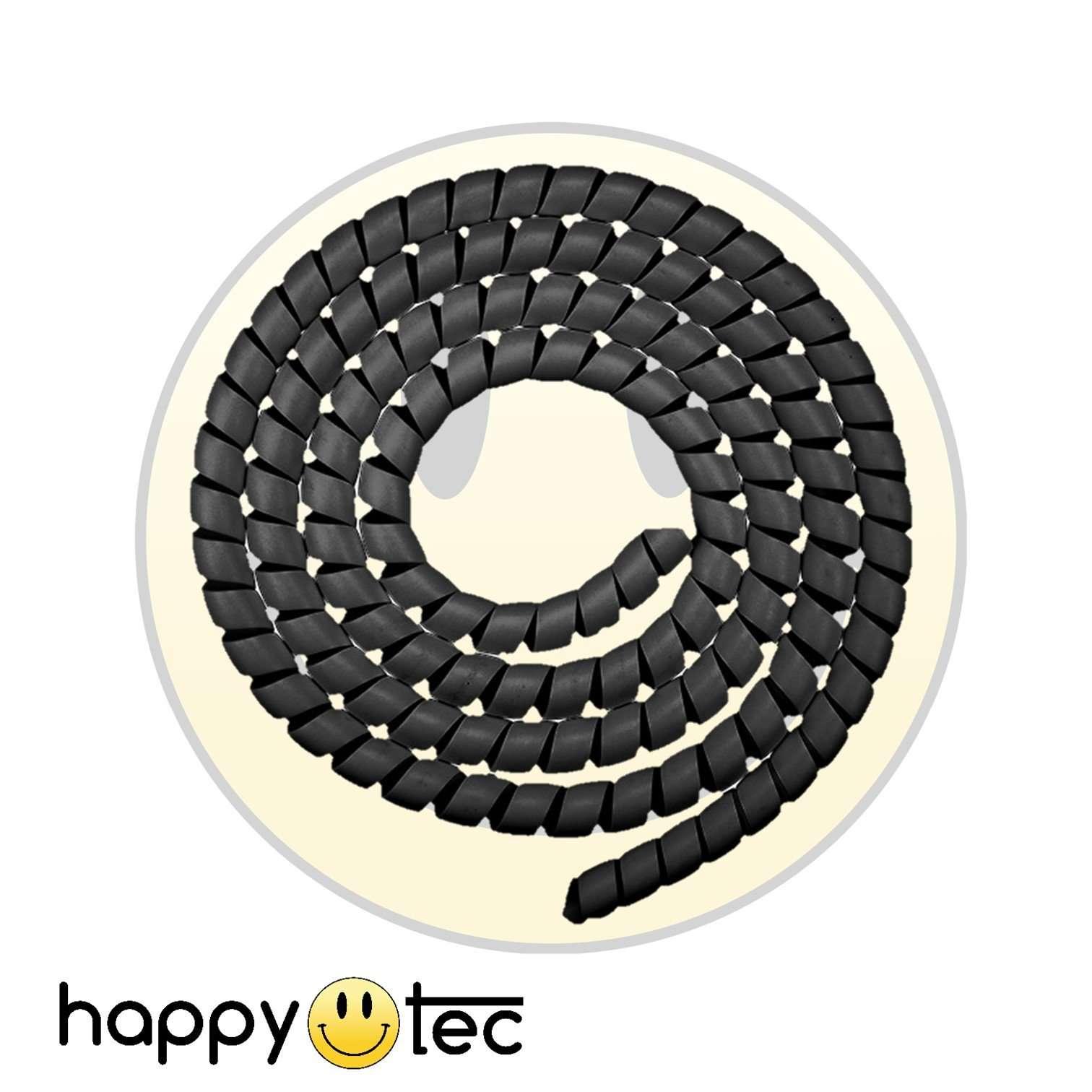 Copri cavi a spirale nero per monopattini Xiaomi