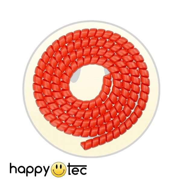 Copri cavi a spirale rosso per monopattini Xiaomi