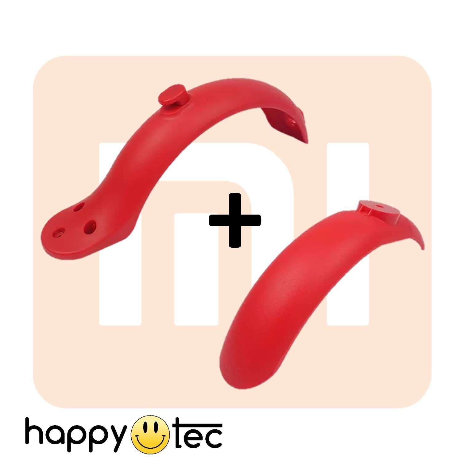 Kit parafanghi rossi per monopattino Xiaomi