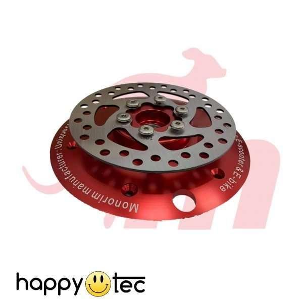Adattatore per installazione disco freno su motori Rosso