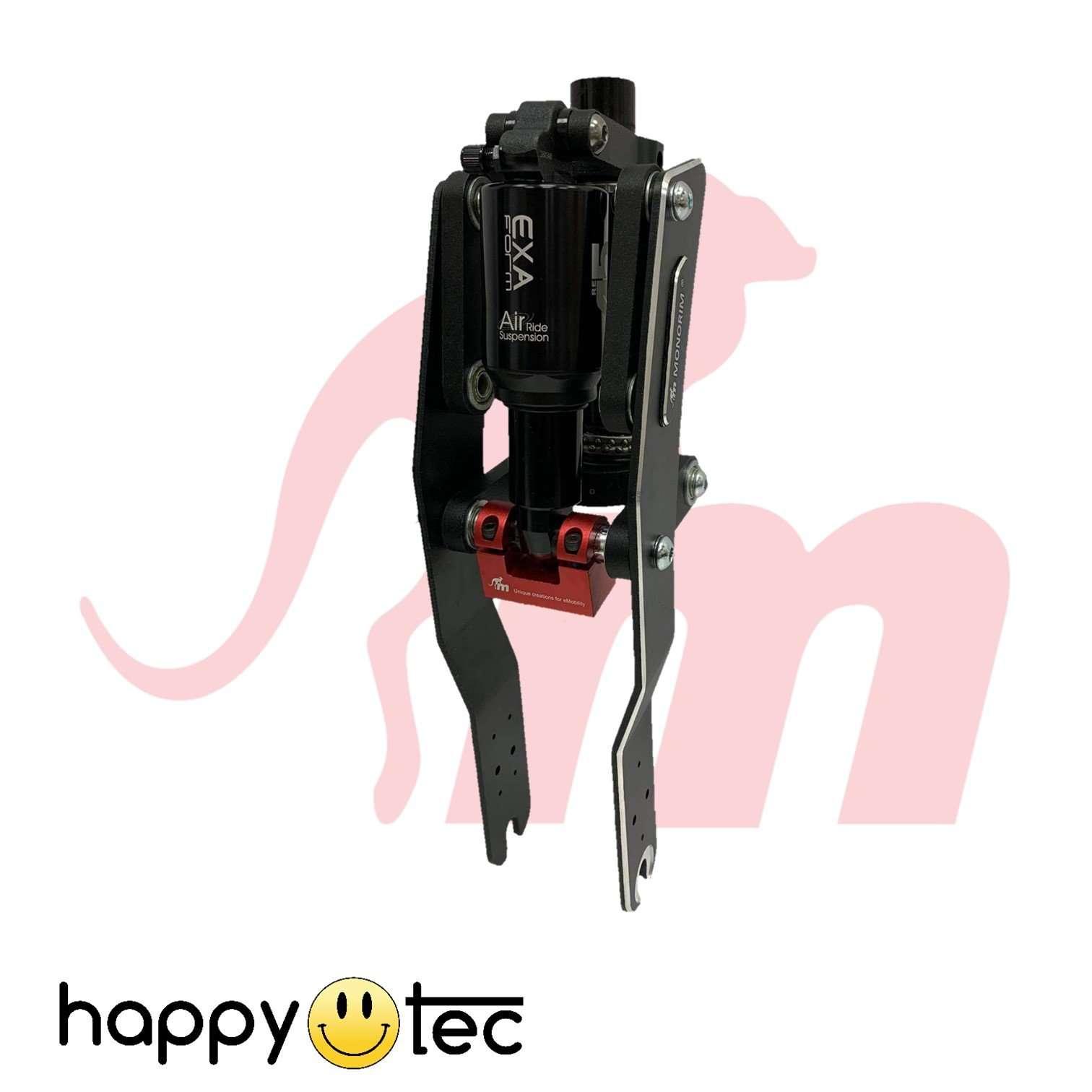 Ammortizzatore anteriore Monorim V3 ad aria per monopattini Xiaomi | Pistone Nero