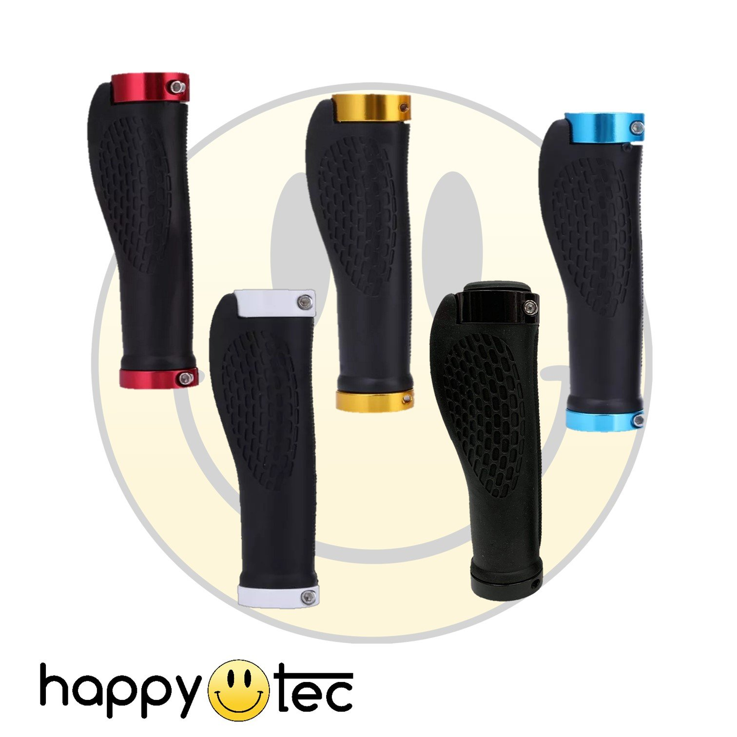Manopole con impugnatura ergonomica per monopattino elettrico Giallo