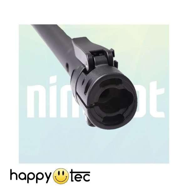 Asta con base pieghevole e sistema di blocco per Ninebot G30