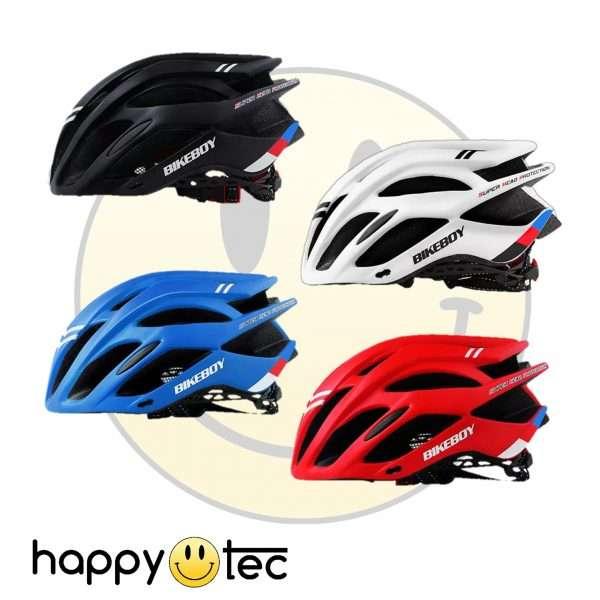 Casco protettivo per bici o monopattini con fanale posteriore (Modello Sport)