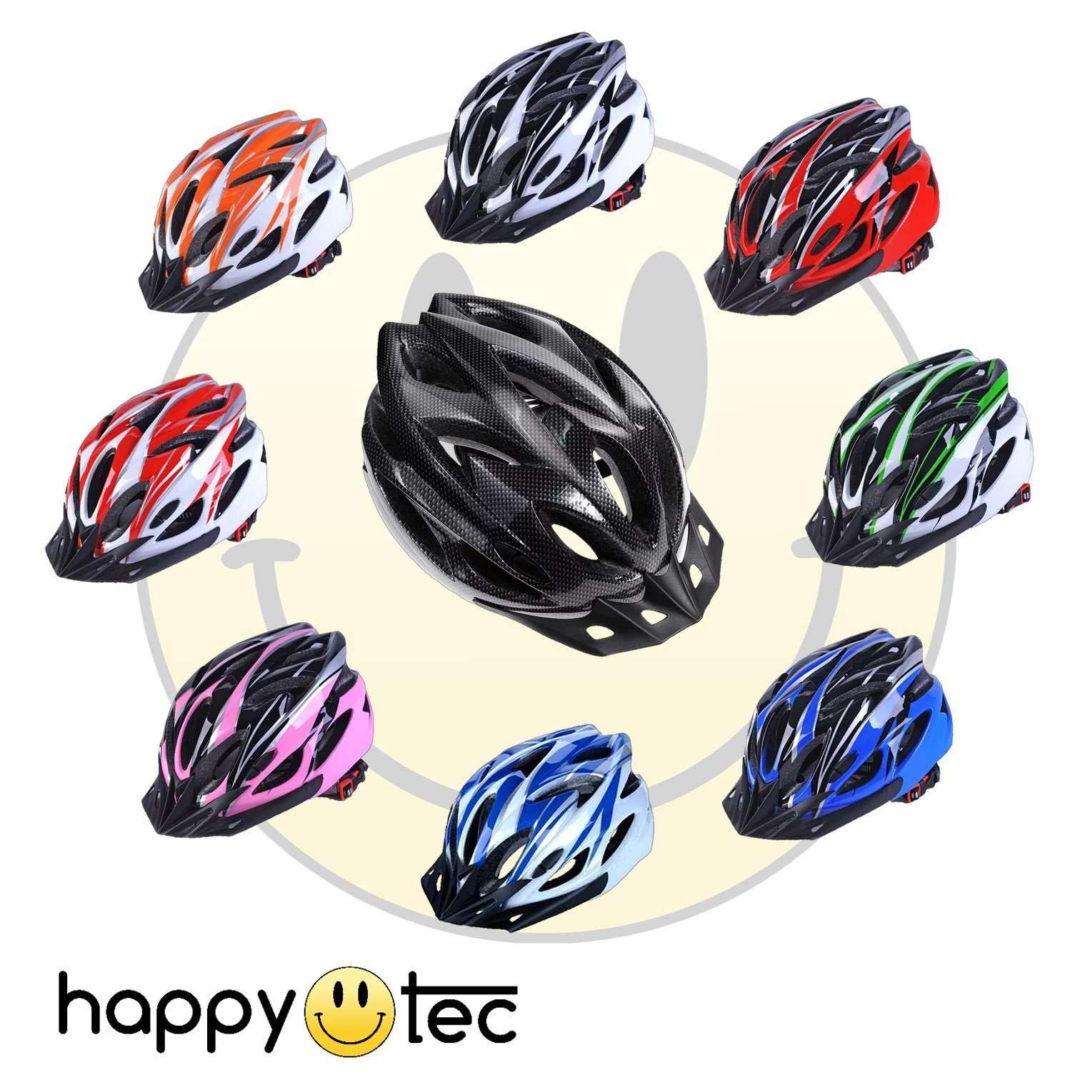 Casco protettivo ultraleggero per bici o monopattini (Modello Sport) Carbonio