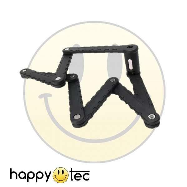 Lucchetto a catena pieghevole in acciaio antifurto per bici e monopattino