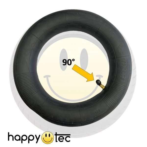 Camera d'aria 10×2.5 pollici valvola 90° per monopattini elettrici (80-65-6)