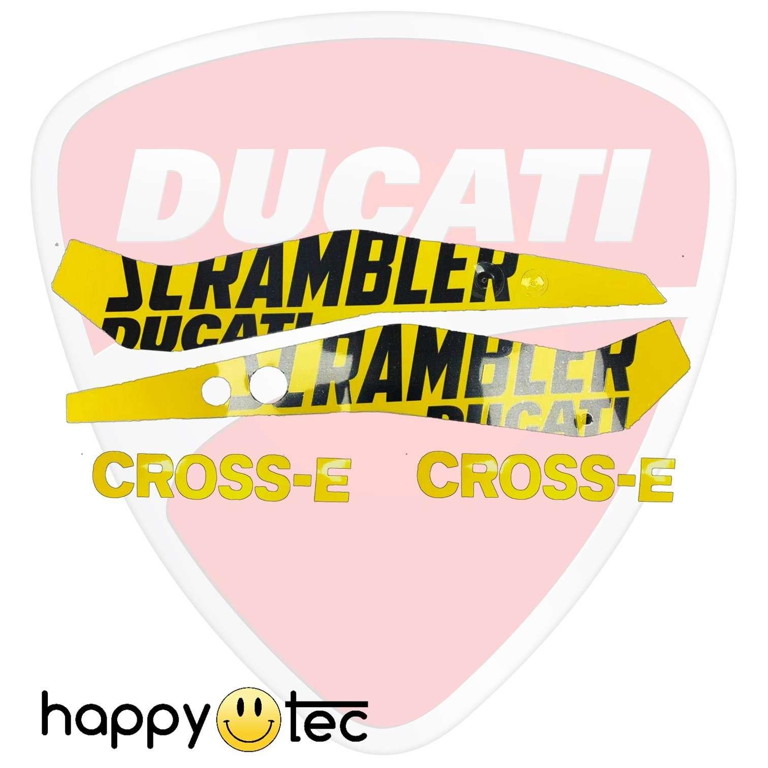 Kit adesivi originali per Ducati Scrambler Cross-E