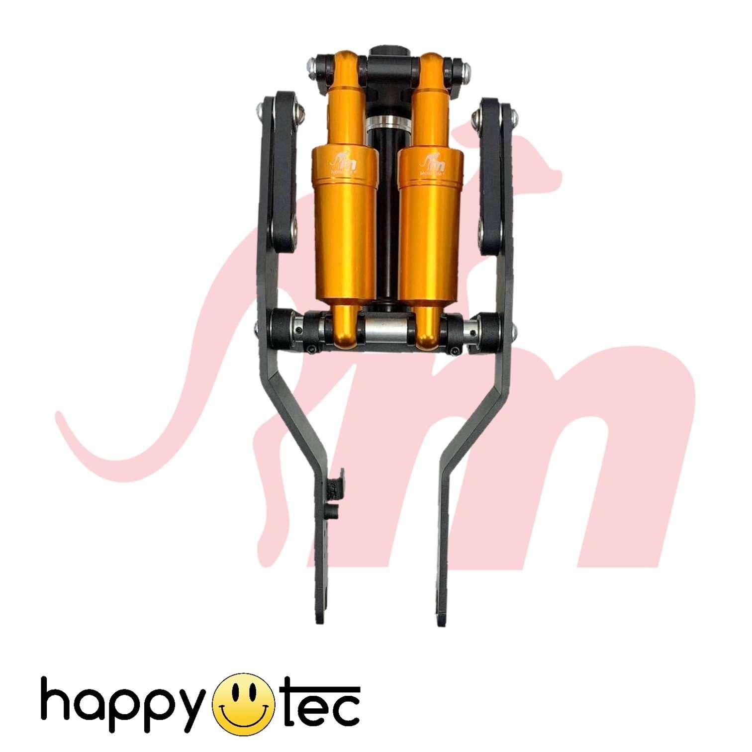 Ammortizzatore anteriore Monorim a doppio pistone per Ninebot G30 | Pistone Oro