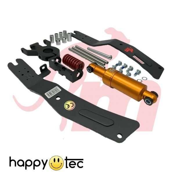 Kit installazione doppio pistone per ammortizzatore anteriore Monorim - Pistone Oro