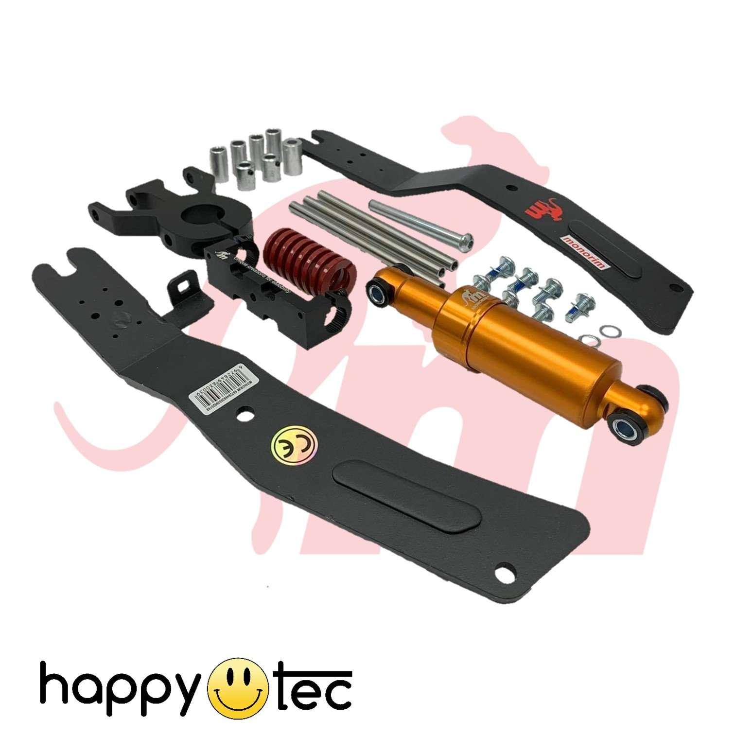 Kit installazione doppio pistone per ammortizzatore anteriore Monorim | Pistone Oro