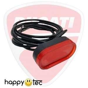 Luce posteriore a LED per monopattino Ducati Scrambler City Cross-E