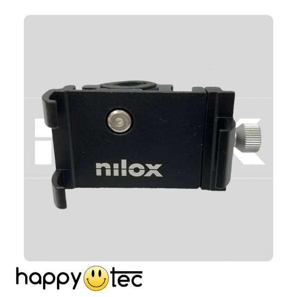 Porta cellulare originale in metallo per manubrio Nilox Doc 8Five