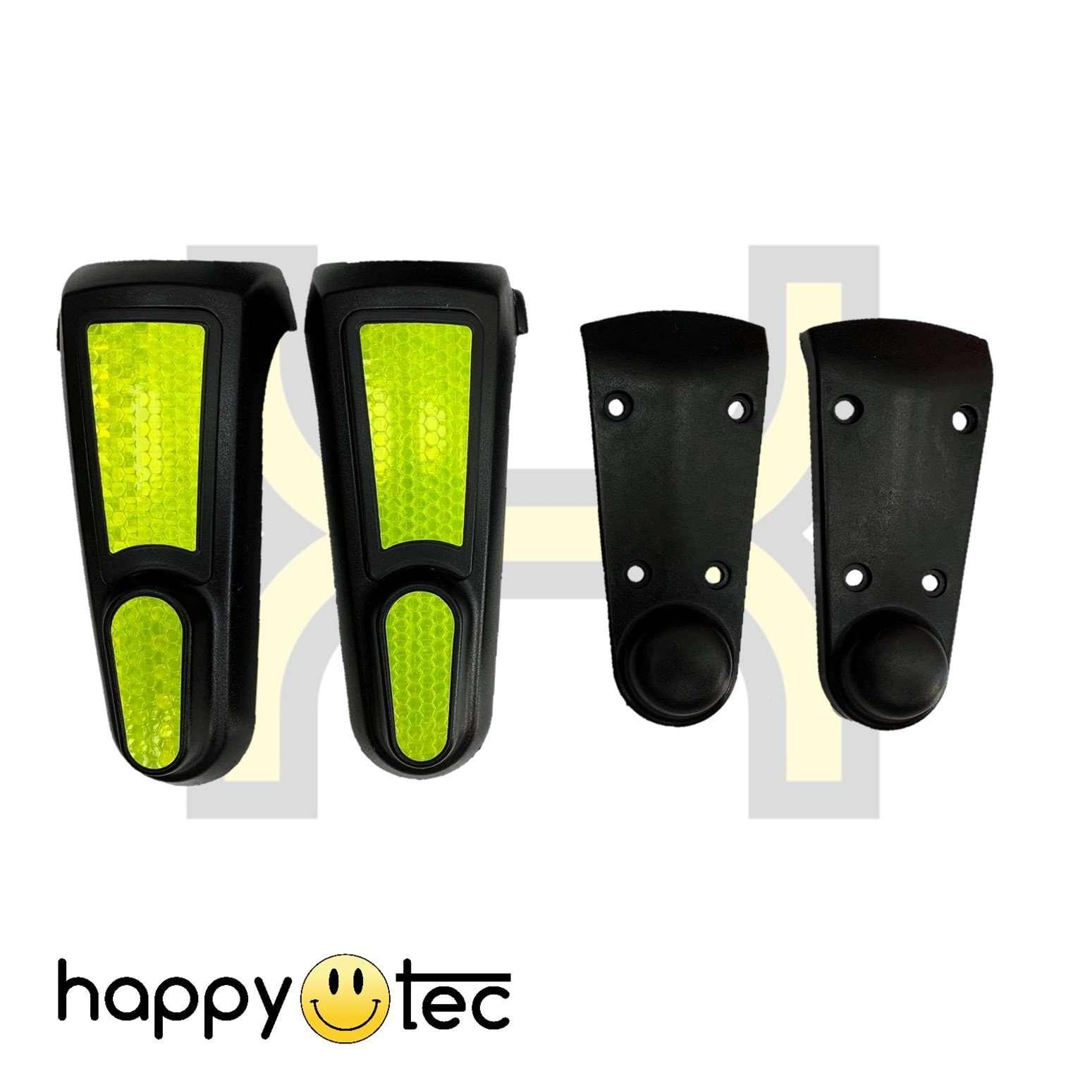 Set coperture plastiche fluorescenti forcella anteriore e posteriore per Lexgo R8 Plus